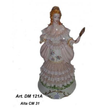 Dama capodimonte cm 31