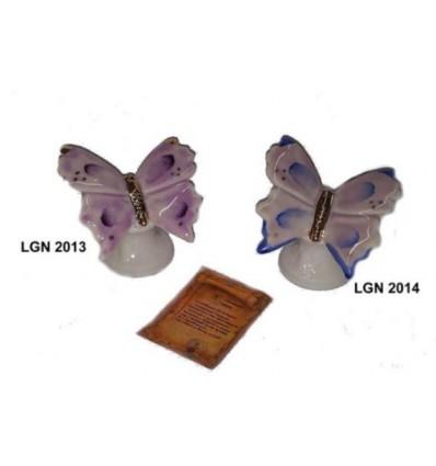 Farfalla capodimonte con basetta e astuccio