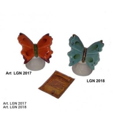 Farfalla capodimonte con basettina e astuccio