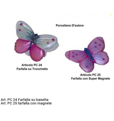 Farfalla su tronchetto