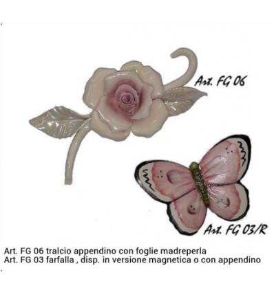Farfalla capodimonte piccola